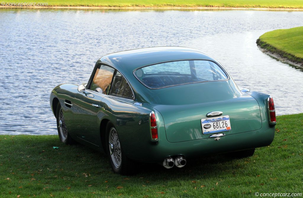 1960 Aston Martin Db4 Gt Image Chassis Number Db4gt 0103 L