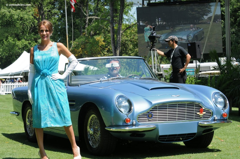 1965 Aston Martin DB5 chis information.