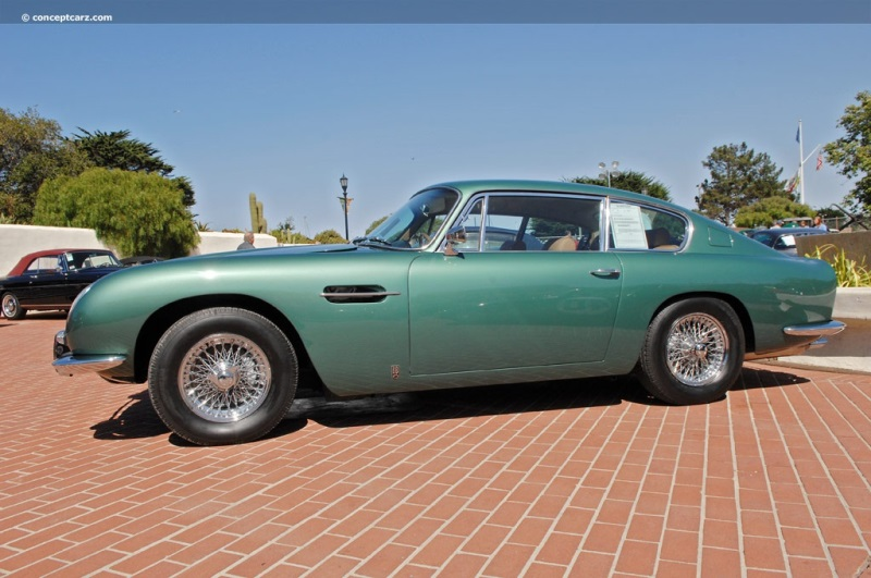 Aston Martin DB History Pictures Value Auction Sales - Aston martin db6