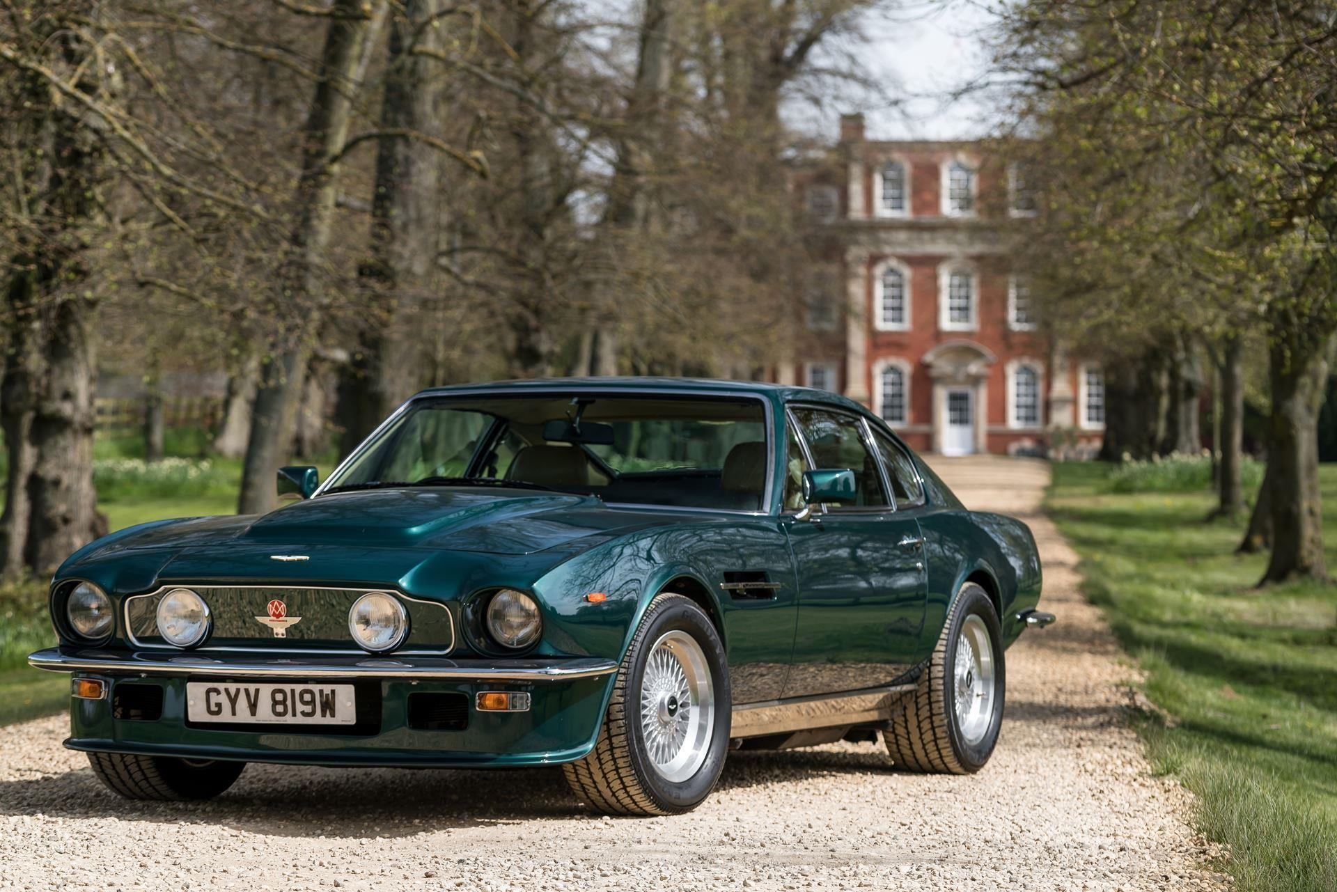 Aston Martin V Vantage History Pictures Value Auction Sales - Aston martin v8