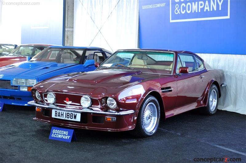 1980 Aston Martin V8 Chassis V8s0r12221 Engine V540 2221 Vx