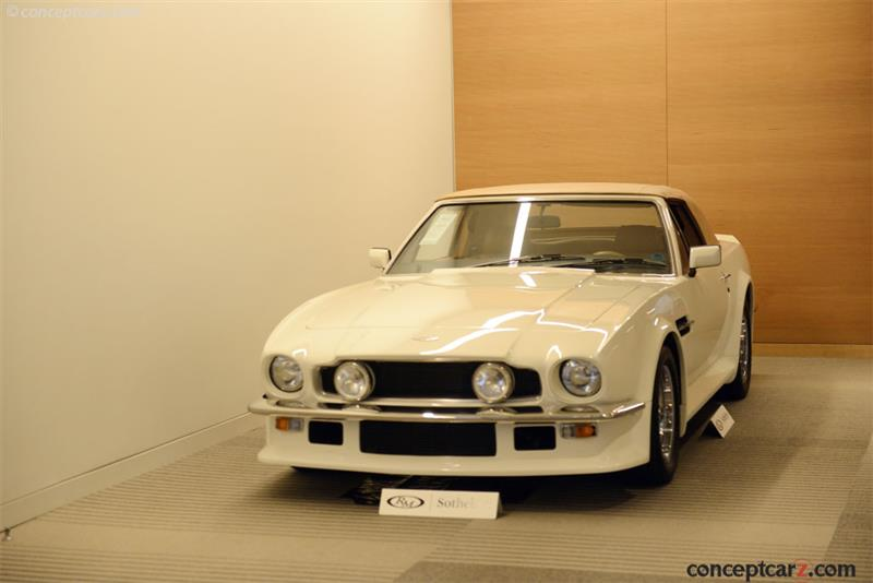 1987 Aston Martin V8 Chassis Scfcv81c7htl15556 Engine V 585 5556 Lfa