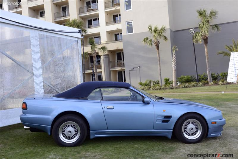 1993 Aston Martin Virage History Pictures Value Auction Sales
