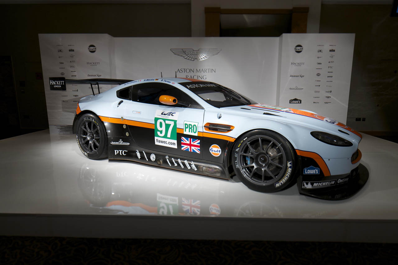 2012 Aston Martin V8 Vantage Gte News And Information Research And Pricing