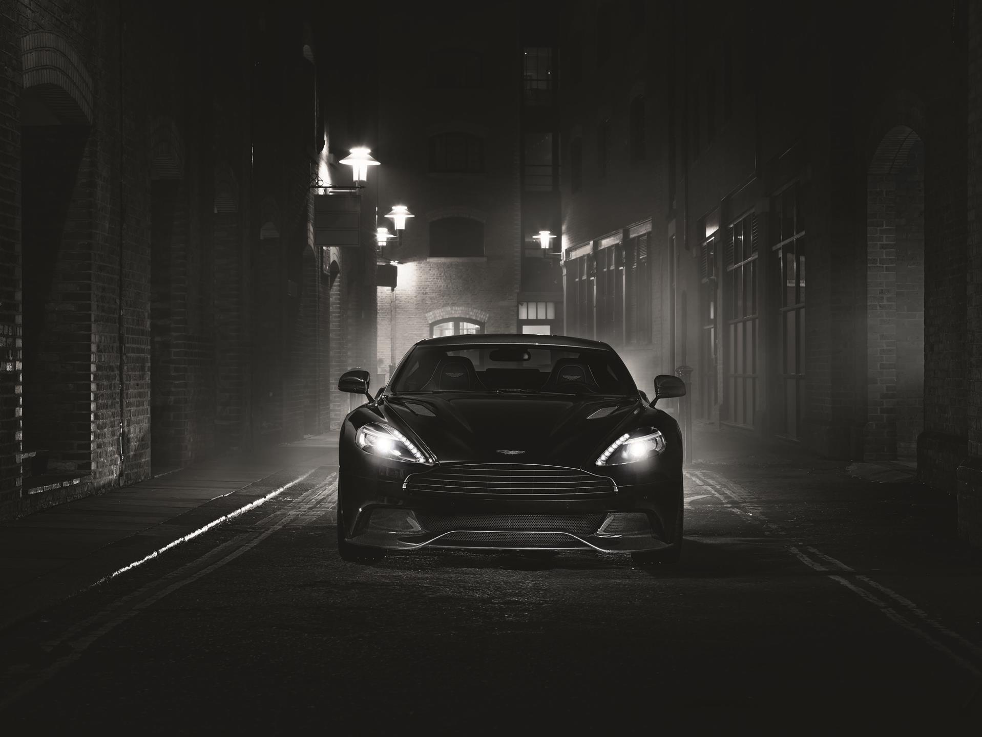 Aston Martin Vanquish Carbon Black News And Information - Aston martin vanquish black