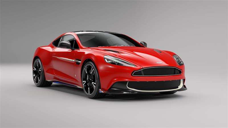 2017 Aston Martin Vanquish S Red Arrows Edition