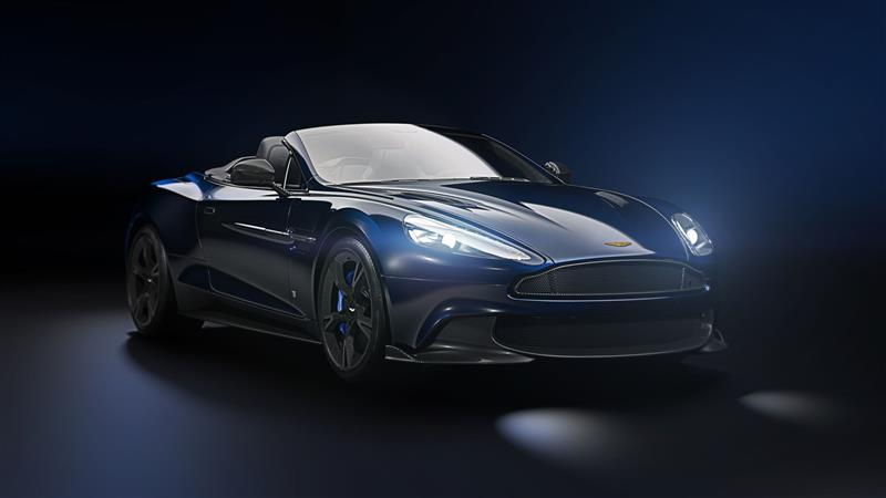 2017 Aston Martin Vanquish S Volante Tom Brady Signature Edition News And Information