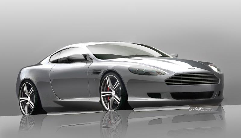 2008 Aston Martin DB9 LM