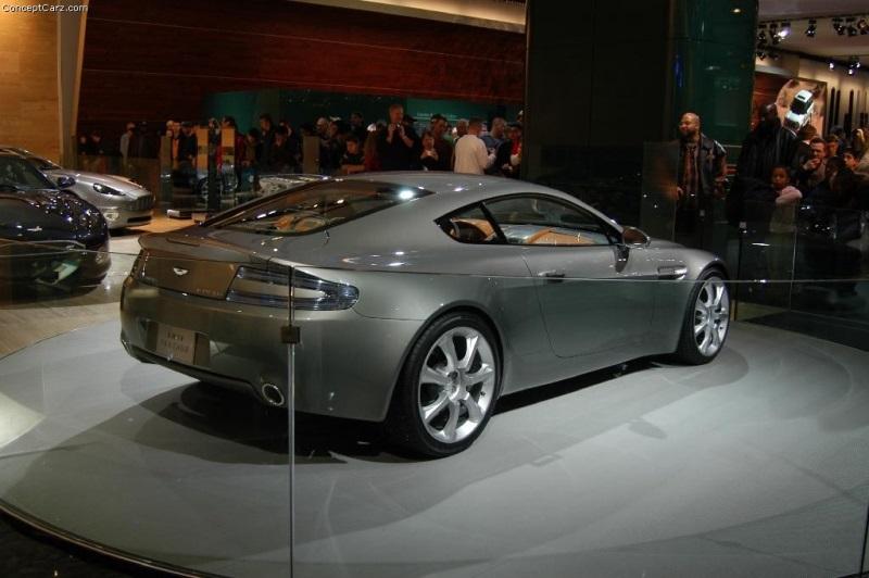 2003 Aston Martin Amv8 Vantage Concept History Pictures Value