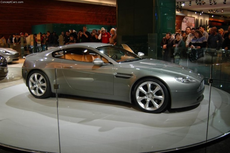 2003 aston martin amv8 vantage concept history pictures sales value research and news. Black Bedroom Furniture Sets. Home Design Ideas