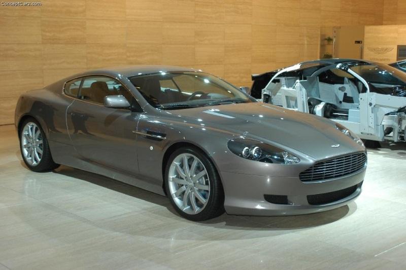 Aston Martin DB Image Photo Of - 2004 aston martin db9