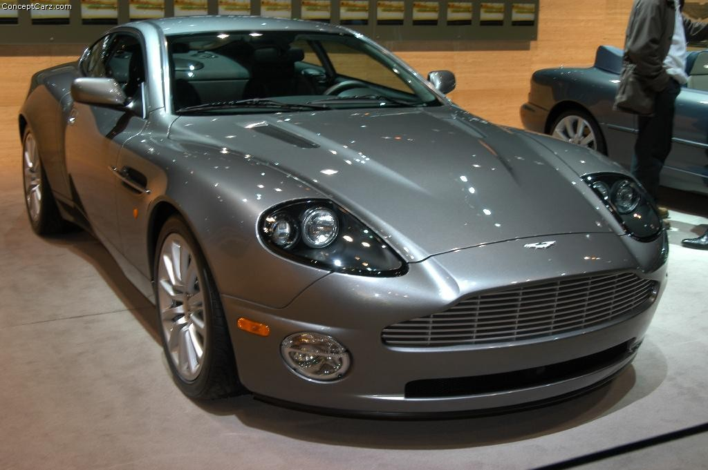 2003 aston martin v12 vanquish history, pictures, value, auction