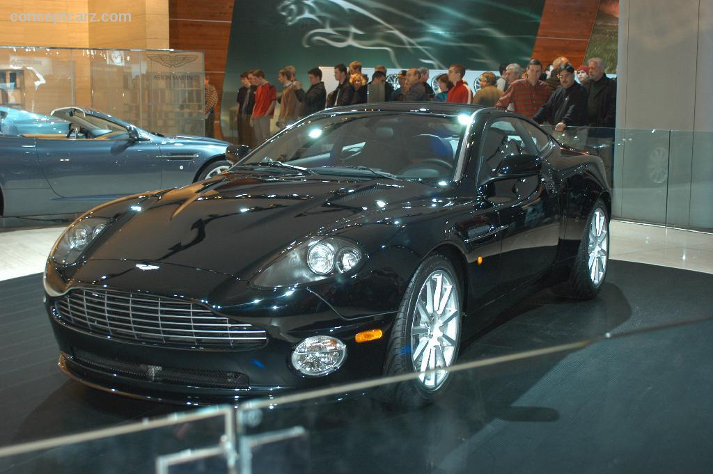 Auction Results And Sales Data For Aston Martin V Vanquish - Aston martin 2005 for sale