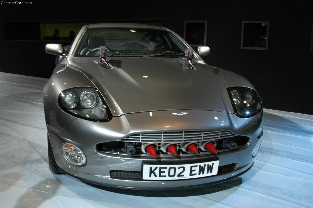 2003 Aston Martin 007 V12 Vanquish History, Pictures ...