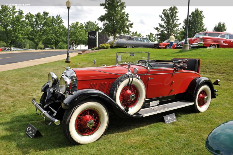 1930 Auburn Model 125 Image Chassis Number 2182