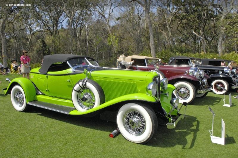 1932 Auburn 12 160 At The Amelia Island Concours D 39 Elegance