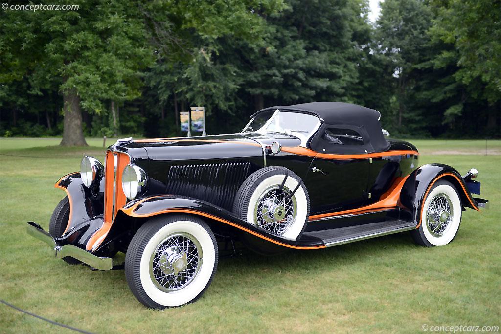 1932 Auburn 8 100a Image