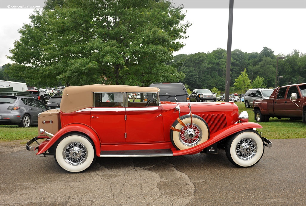 1932 Auburn 12 160a Image Chassis Number Bb338