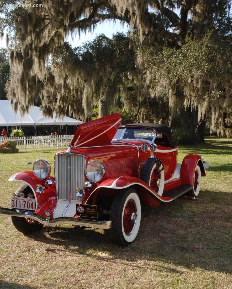 1932 Auburn 8-100 Image. Photo 57 Of 69