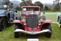 1933 Auburn 12-161.  Chassis number 2156 H