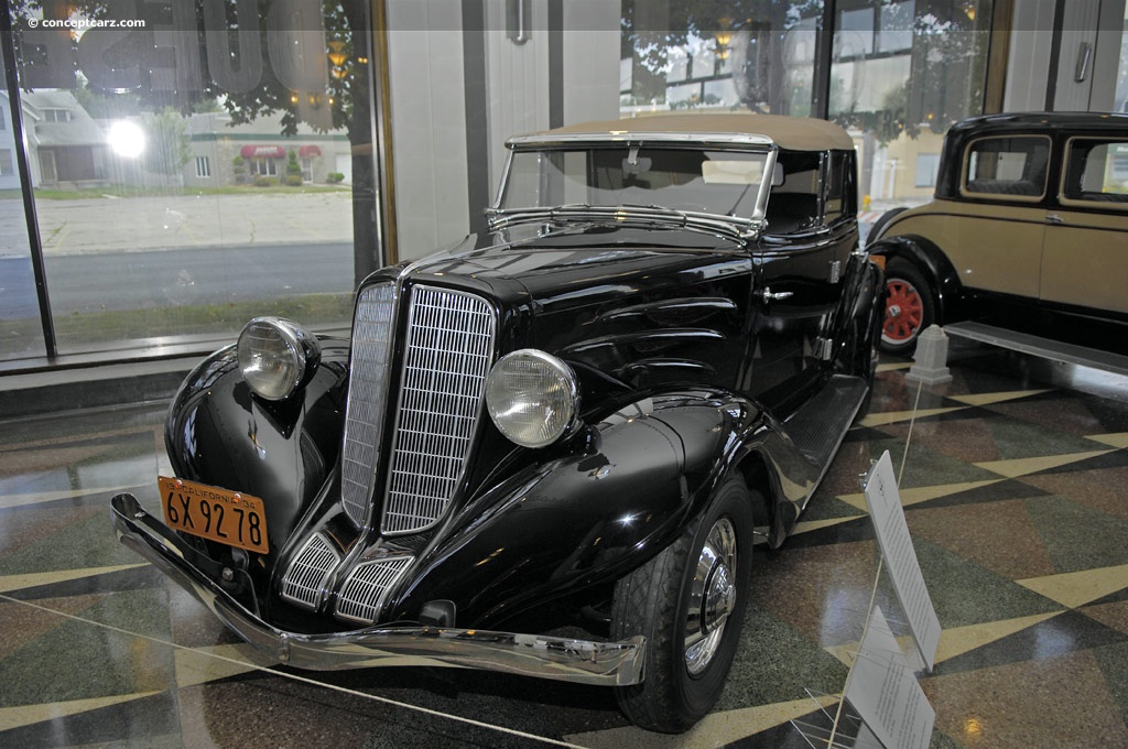 1934 Auburn Model 652Y Custom History, Pictures, Value, Auction Sales, Research and News