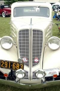 1934 Auburn 652X Standard image.