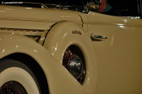 1935 Auburn Model 851.  Chassis number GG4224