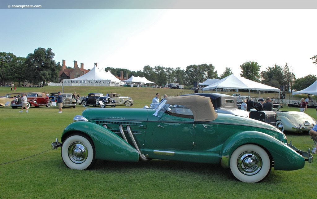 1936 Auburn 852 At The Meadow Brook Concours D 39 Elegance