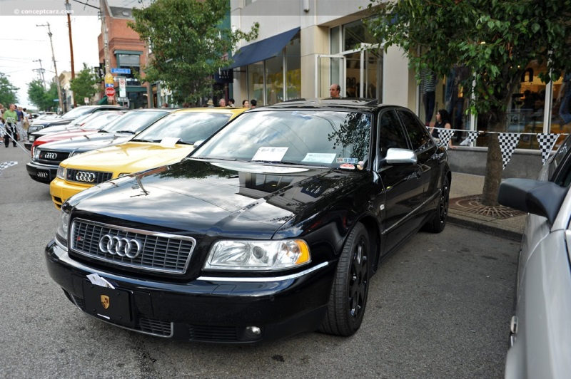 2001 Audi S8 pictures and wallpaper