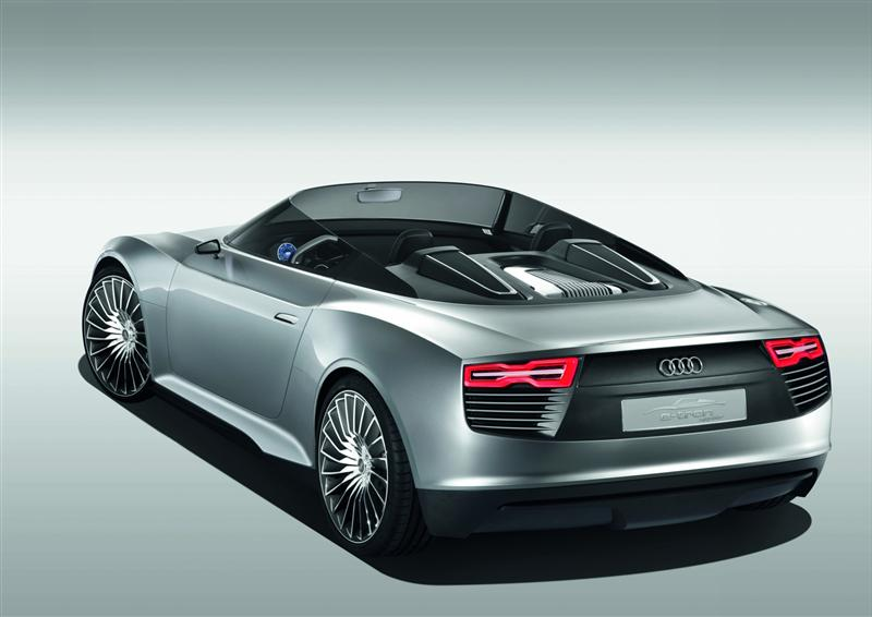 2010 audi e tron spyder concept image. Black Bedroom Furniture Sets. Home Design Ideas