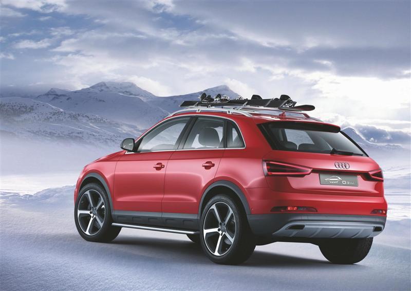 2012 Audi Q3 Vail Concept Image Photo 47 Of 47