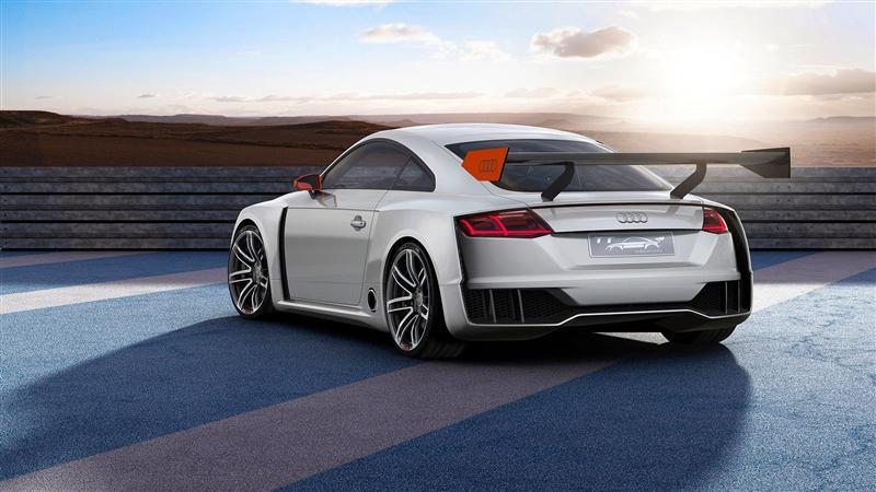 2016 Audi Tt Clubsport Turbo Concept Image Photo 4 Of 5