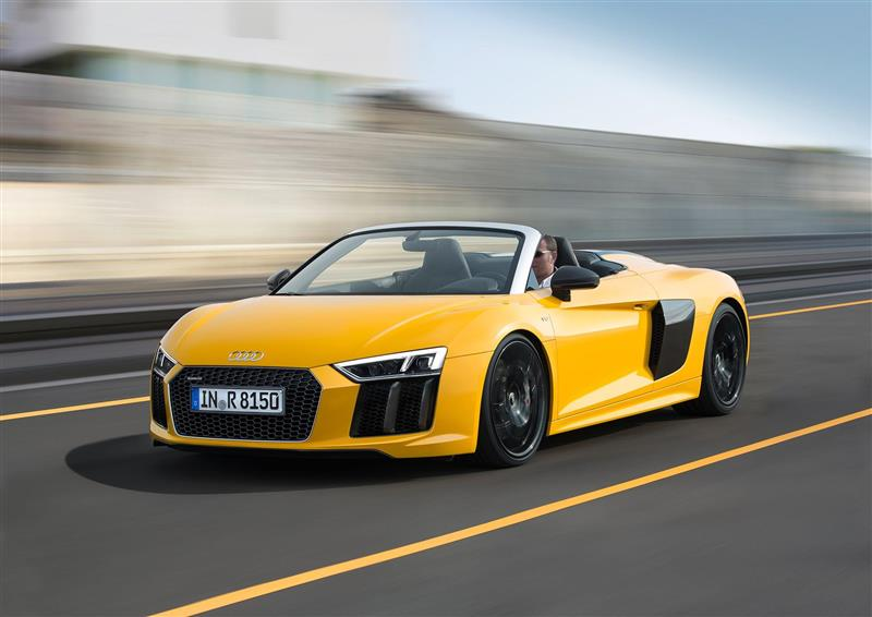Audi R Spyder V News And Information - Audi r8 v10 spyder