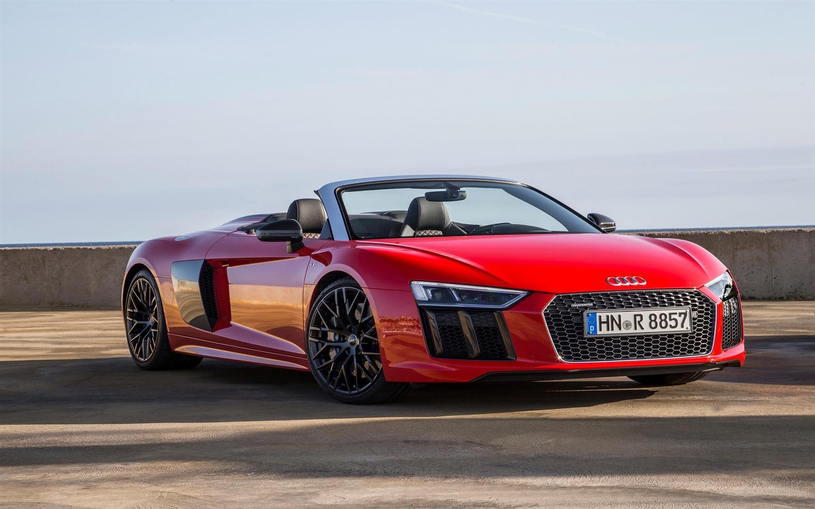 Audi audi r8 spyder v10 : 2017 Audi R8 Spyder V10 Image. https://www.conceptcarz.com/images ...
