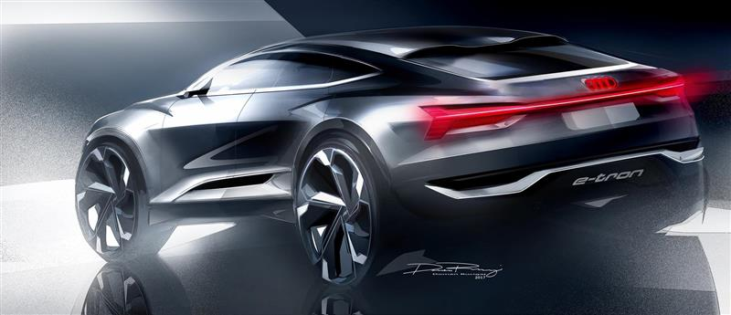 2017 Audi e-tron Sportback Concept