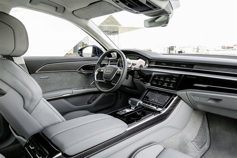 Audi A Image Photo Of - 2018 audi a8