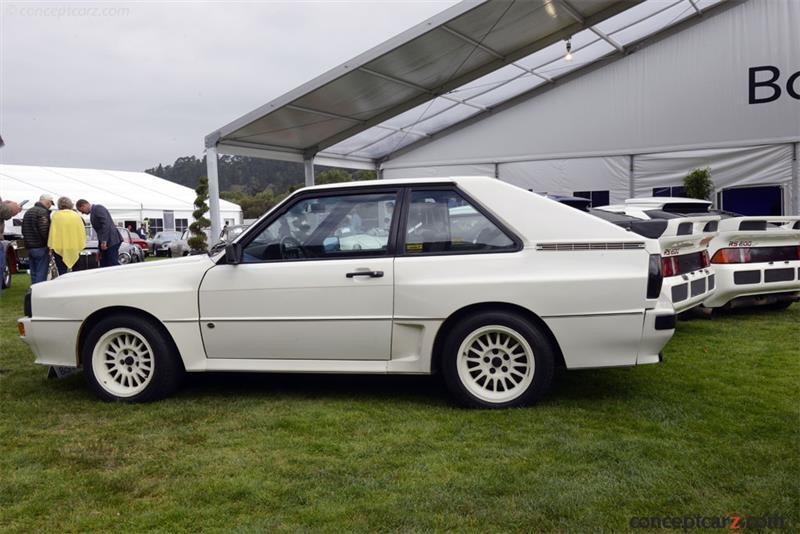 1985 Audi Quattro Chassis Information