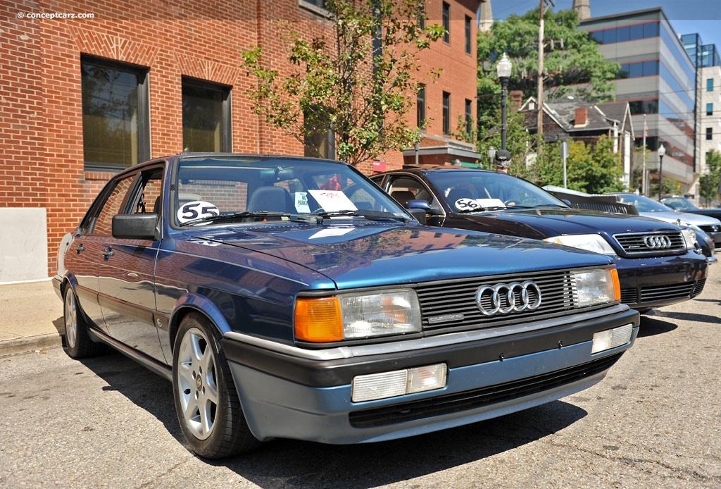 1986 Audi 4000cs Quattro History Pictures Value Auction