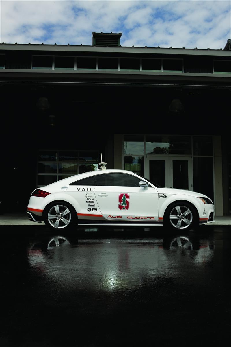 2011 Audi Autonomous TTS Pikes Peak