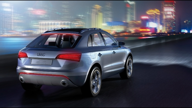 2007 Audi Cross Coupe Quattro Study