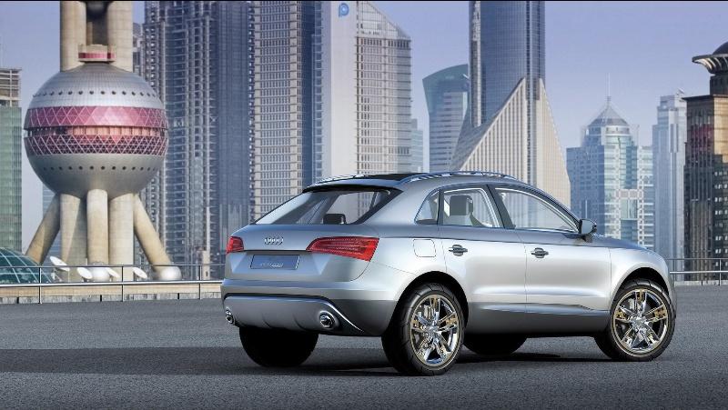 2007 Audi Cross Coupe Quattro Study