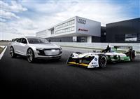 2018 Audi e-tron FE04 image.