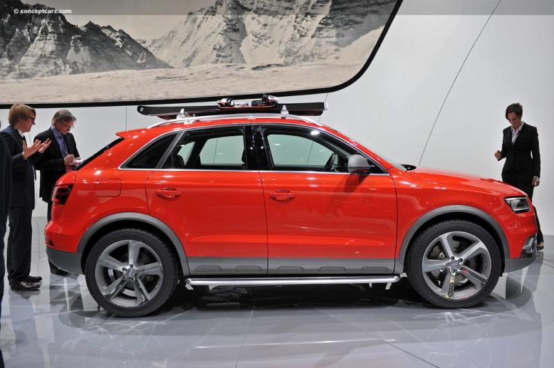 2012 Audi Q3 Vail Concept Image Photo 23 Of 47