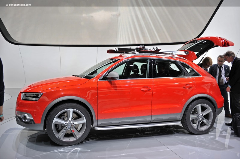 2012 Audi Q3 Vail Concept Image Photo 22 Of 47