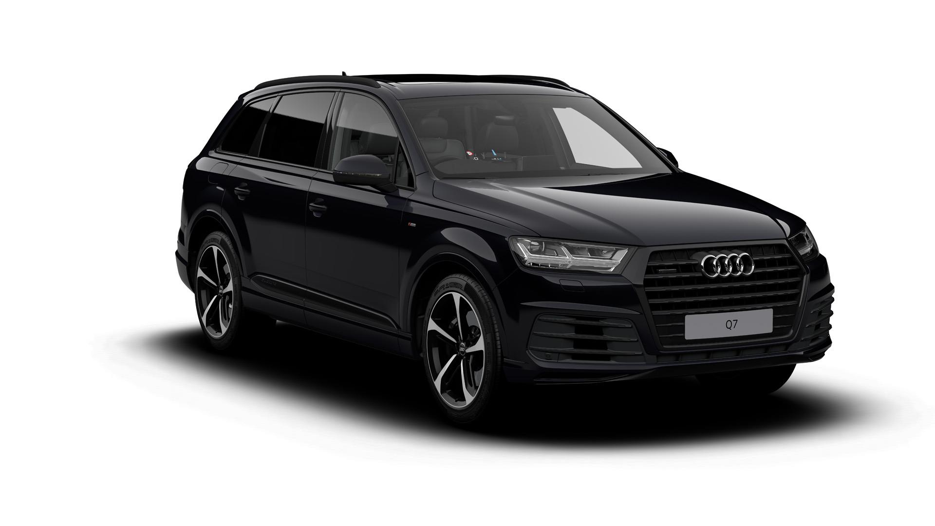 2018 audi q7 black edition news and information. Black Bedroom Furniture Sets. Home Design Ideas