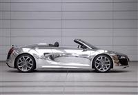 2011 Audi Chrome R8 Spyder image.