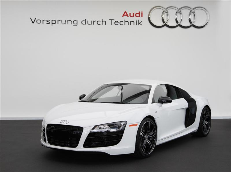 2012 Audi R8 Exclusive Selection Editions