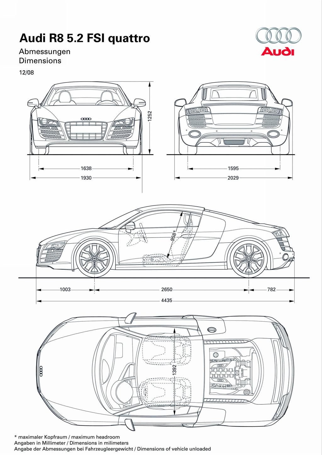 Audi R8 Diagram Not Lossing Wiring Awe Tt Rs Switchpath Exhaust System Eurocar News 2009 5 2 Fsi Quattro Image Photo 17 Of 23 Rh Conceptcarz Com Fuse Coil