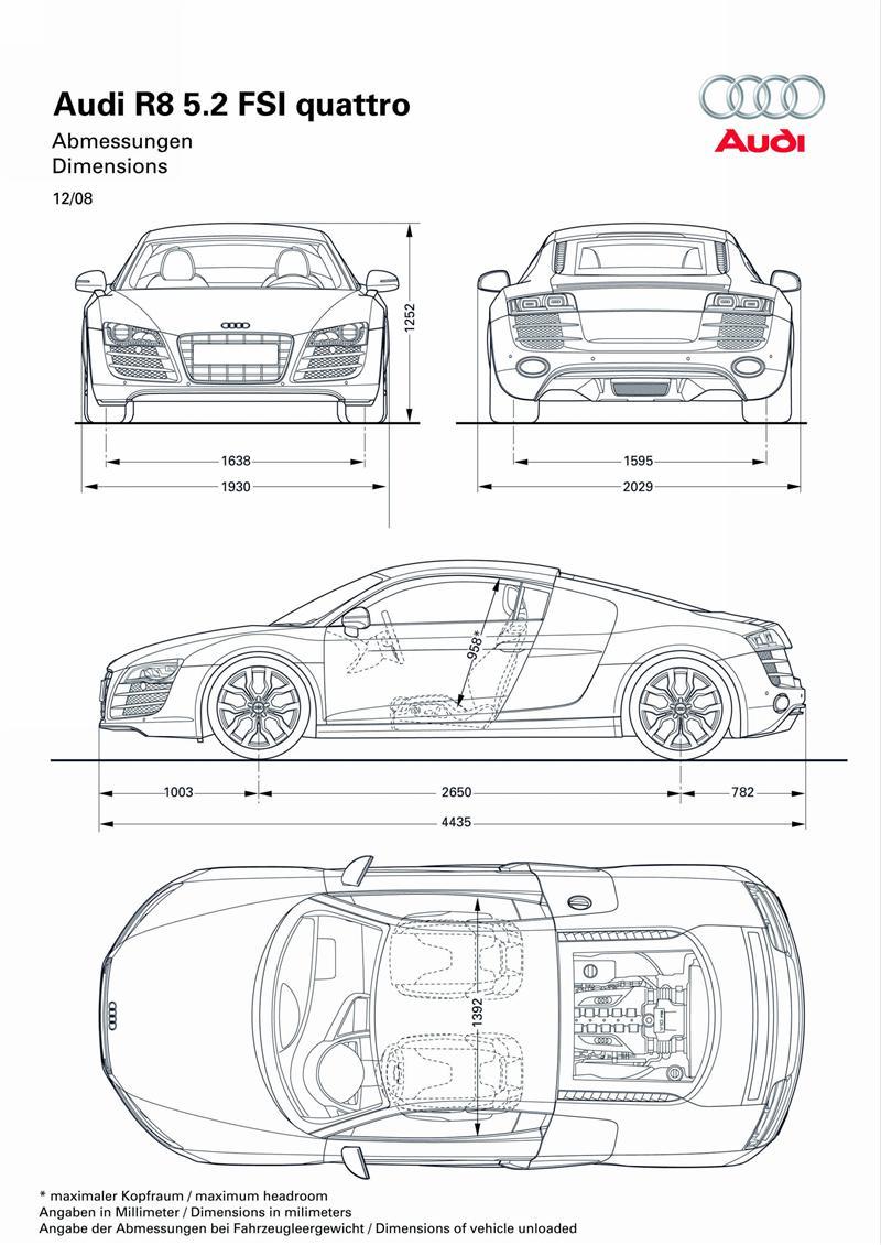 2009 Audi R8 5.2 FSI Quattro