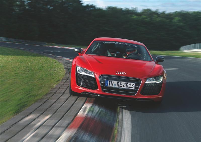 2012 Audi R8 e-tron